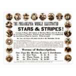 Philadelphia Weekly 1918 Stars & Stripes Newspaper Post Card