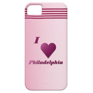 Philadelphia -- Wine iPhone SE/5/5s Case