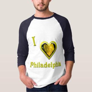 Philadelphia -- with Yellow Flower T Shirt