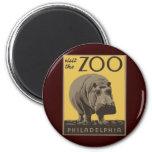 Philadelphia Zoo Fridge Magnet