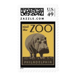 Philadelphia Zoo Postage Stamps