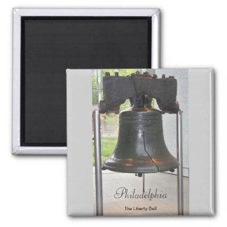 Philadelphia's Great Bell Square Magnet