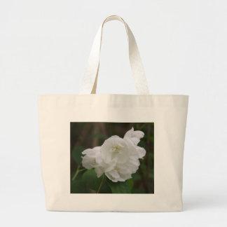 Philadelphus  (Mock Orange) Flower Bag Jumbo Tote Bag