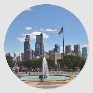 Philadephia Classic Round Sticker