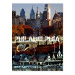 Philadephia escénico tarjeta postal