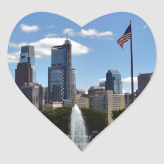 Philadephia Heart Sticker