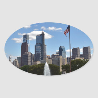 Philadephia Oval Sticker