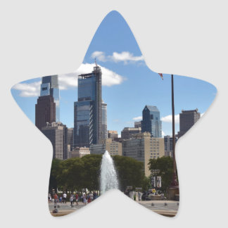 Philadephia Star Sticker