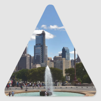 Philadephia Triangle Sticker