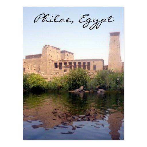 philae Egipto Postal