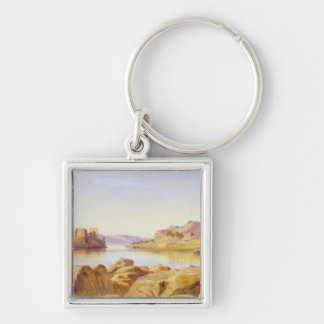 Philae, Egypt, 1863 (oil on canvas) Keychain