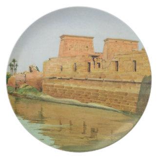 Philae on the Nile, 1894 Plate