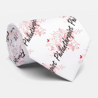 Philanthropist Artistic Job Design with Butterflie Neck Tie