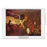 Philemon And Baucis By Elsheimer Adam Card