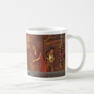 Philemon And Baucis By Elsheimer Adam Coffee Mugs
