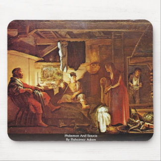 Philemon And Baucis By Elsheimer Adam Mouse Pads