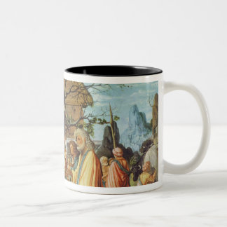 Philemon and Baucis, c.1500 Two-Tone Coffee Mug