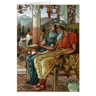 Philemon & Baucis Greeting Card