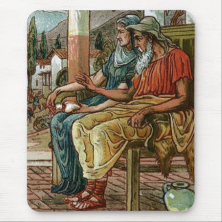 Philemon & Baucis Mouse Pad