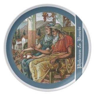 Philemon & Baucis Party Plates