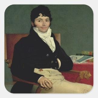 Philibert Riviere 1805 Pegatina Cuadrada