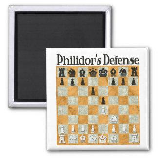 Philidor's Defense Fridge Magnet