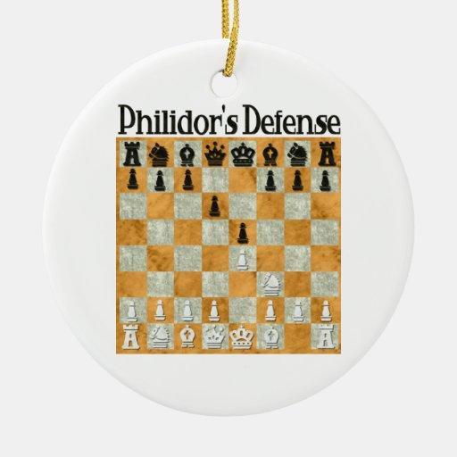 Philidor's Defense Ornament