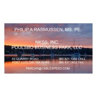 PHILIP A RASMUSSEN, MS. PE.,  NKSS... BUSINESS CARD