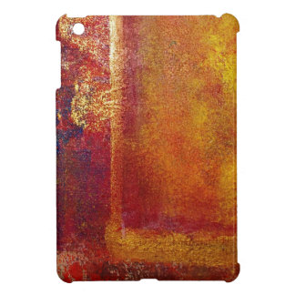 Philip Bowman Abstract Art Color Fields Orange Red iPad Mini Cases