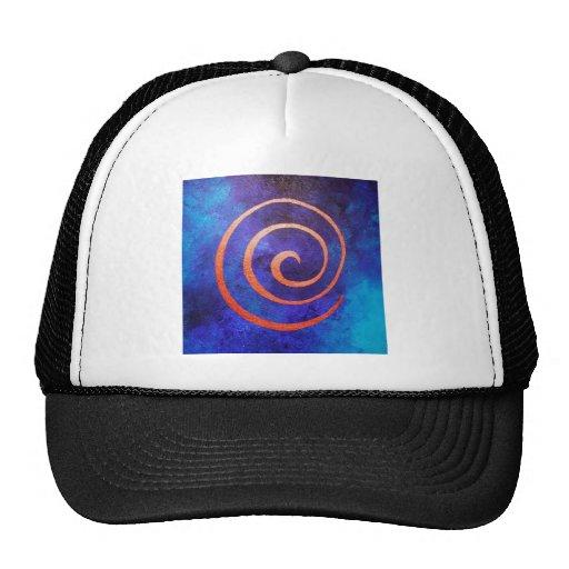 "Philip Bowman ""copilot by spiral on Deep Blue "" Hats"