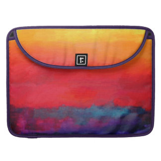 Philip Bowman Evening Colors Modern Abstract Art MacBook Pro Sleeve