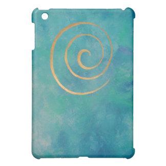 Philip Bowman Infinity Aqua Blue Abstract Art Cyan Case For The iPad Mini