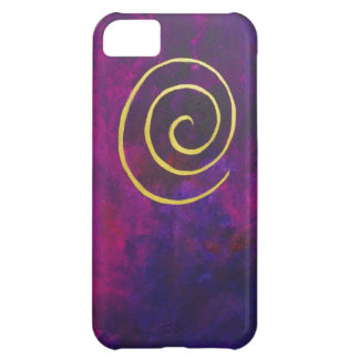 Philip Bowman Infinity Deep Purple Decorative Art Case For iPhone 5C