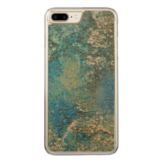 Philip Bowman Ocean Blue And Gold Abstract Art Carved iPhone 7 Plus Case