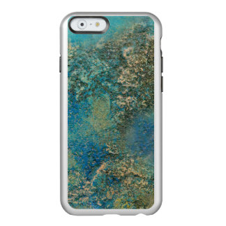 Philip Bowman Ocean Blue And Gold Abstract Art Incipio Feather Shine iPhone 6 Case