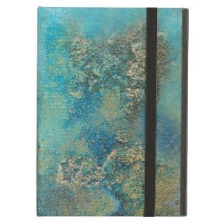 Philip Bowman Ocean Blue And Gold Abstract Art iPad Air Cases