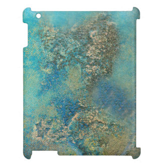 Philip Bowman Ocean Blue And Gold Abstract Art iPad Covers