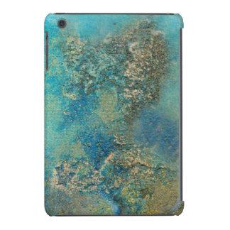 Philip Bowman Ocean Blue And Gold Abstract Art iPad Mini Case