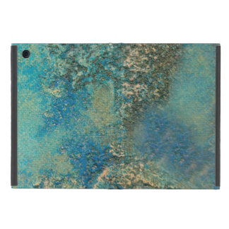 Philip Bowman Ocean Blue And Gold Abstract Art iPad Mini Covers