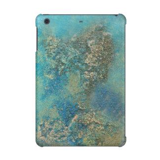 Philip Bowman Ocean Blue And Gold Abstract Art iPad Mini Retina Case
