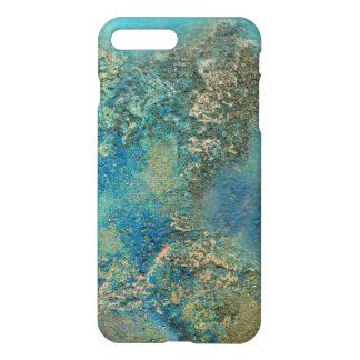 Philip Bowman Ocean Blue And Gold Abstract Art iPhone 7 Plus Case