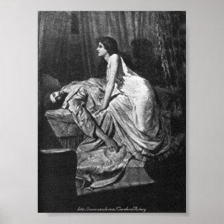 Philip Burne-Jones - el vampiro, 1897 Póster