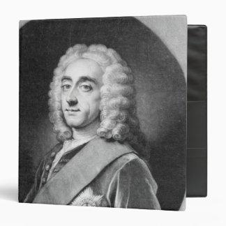 Philip Dormer Stanhope, engraved by John Simon Binders