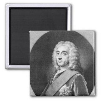 Philip Dormer Stanhope, engraved by John Simon Magnet
