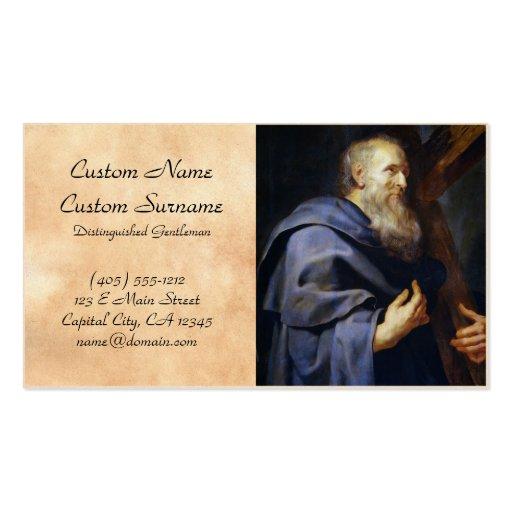 Philip el retrato de Peter Paul Rubens del apóstol Tarjetas De Visita