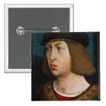 Philip I de España Pin Cuadrada 5 Cm