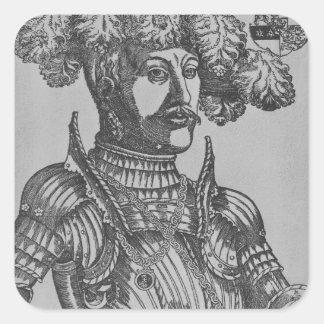 Philip I, landgrave de Hesse Pegatina Cuadrada