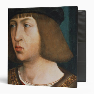 Philip I of Spain 3 Ring Binder