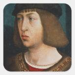 Philip I of Spain Square Stickers