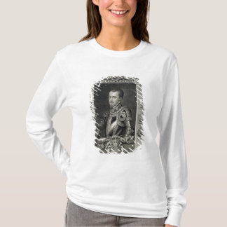 Philip II (1527-98) King of Spain from 1556, engra T-Shirt